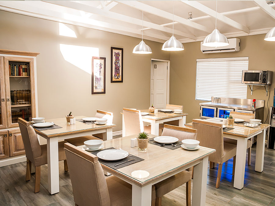 Dining Area Vanilla Guesthouse