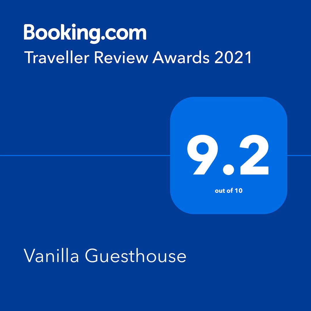 booking.com 2021 traveller review awards 2021